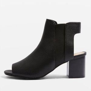 Topshop Dip Chelsea Shoe Boots